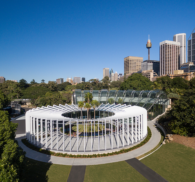 The Calyx at the Royal Botanic Garden Sydney