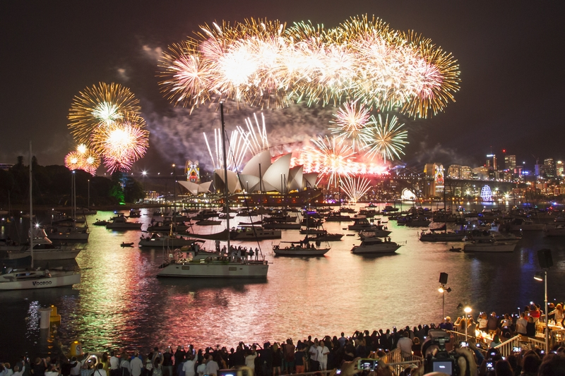 New Year's Eve at the Gardens, Sydney