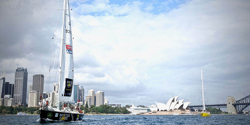 sailing invictus games farm cove garden sydney