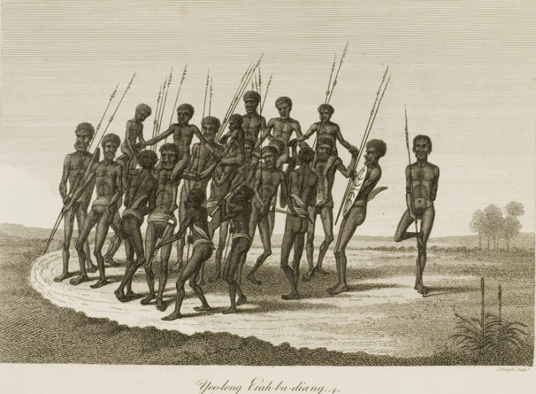 Aboriginal Dog Dance at Maquaries Chair.png