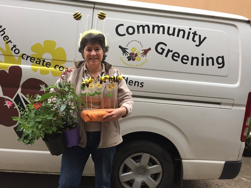 elizabeth docking, community greening