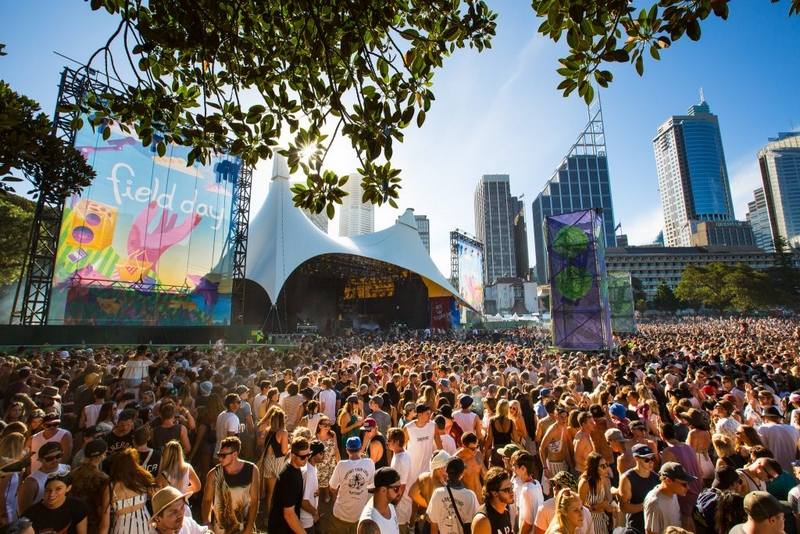 Field Day in the Domain, Sydney