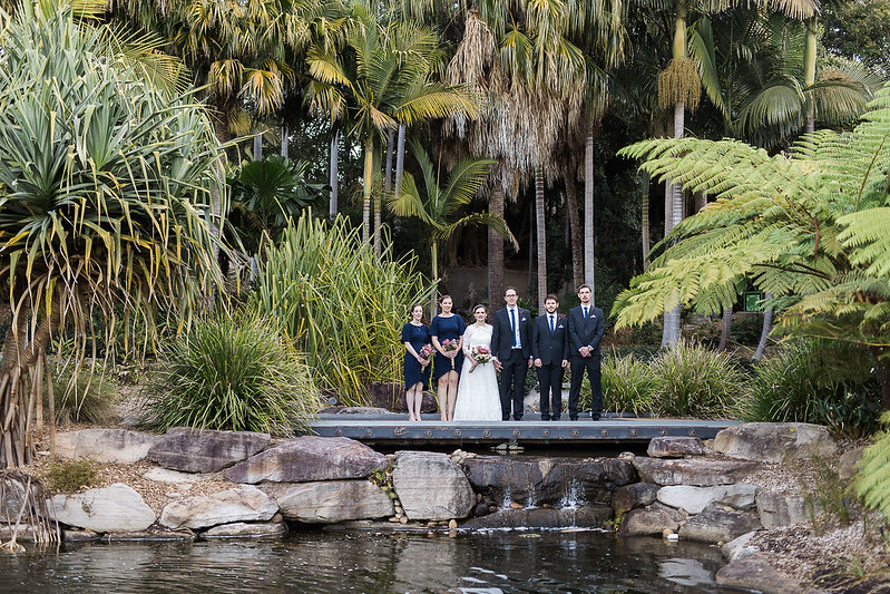 Wedding at the Australian Botanic Garden Mount Annan