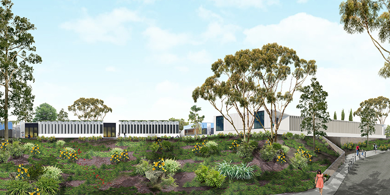 Construction for the National Herbarium of NSW at the Australian Botanic Garden Mount Annan will begin in 2019